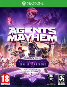 Agents of Mayhem Xone Używana