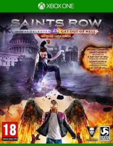 Saints Row IV: Re-Elected & Gat out of Hell XOne Używana