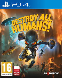 Destroy All Humans! PS 4