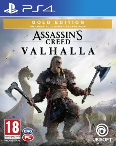 Assassin's Creed Valhalla Gold Edition PS 4