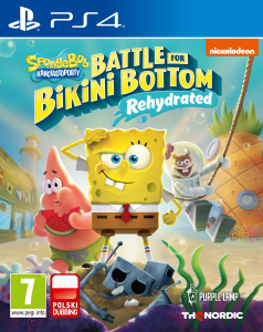 SpongeBob SquarePants Battle for Bikini Bottom - Rehydrated PS4