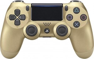 Pad DualShock 4 Gold PS4