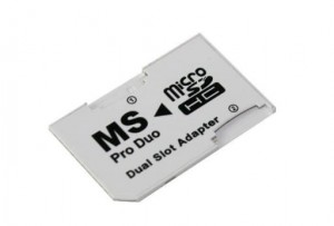 Adapter MS Pro Duo - microSD